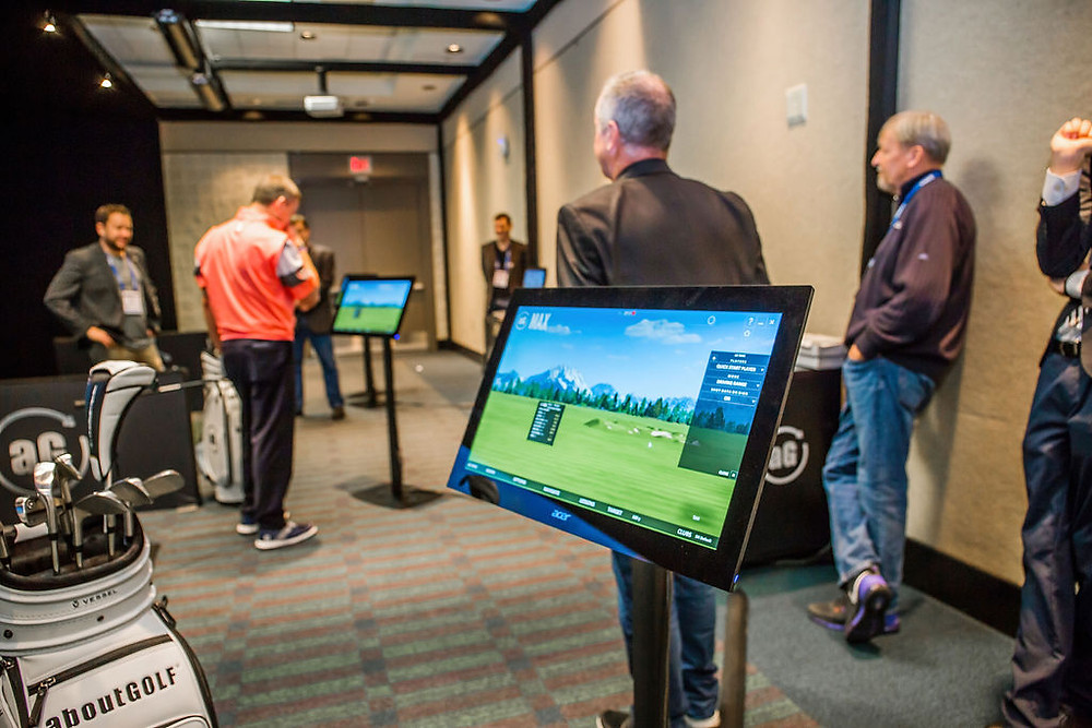 best commercial golf simulator