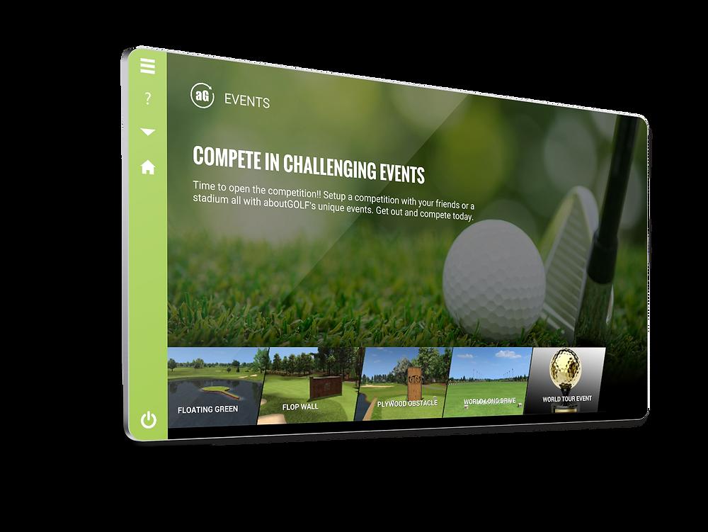 online golf tour