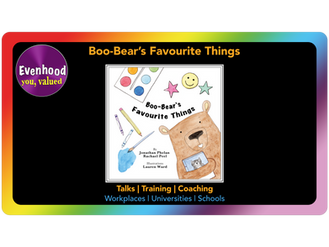 Boo-Bear's Favourite Things: supporting the wellbeing of our younger generation
