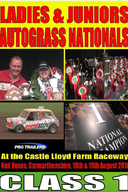 LADIES NATIONALS - CLASS 1 - DVD
