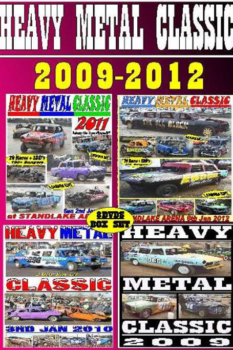 HEAVY METAL CLASSIC - 2009-2012  Box Set
