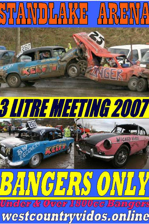 2007 -STANDLAKE ARENA - 3LITRE BANGER MEETING