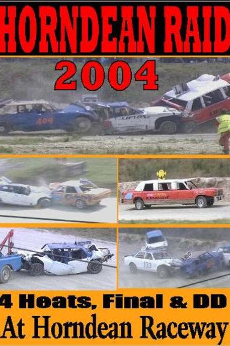 HORNDEAN RAID -  2004  BANGER TEAM MEETING