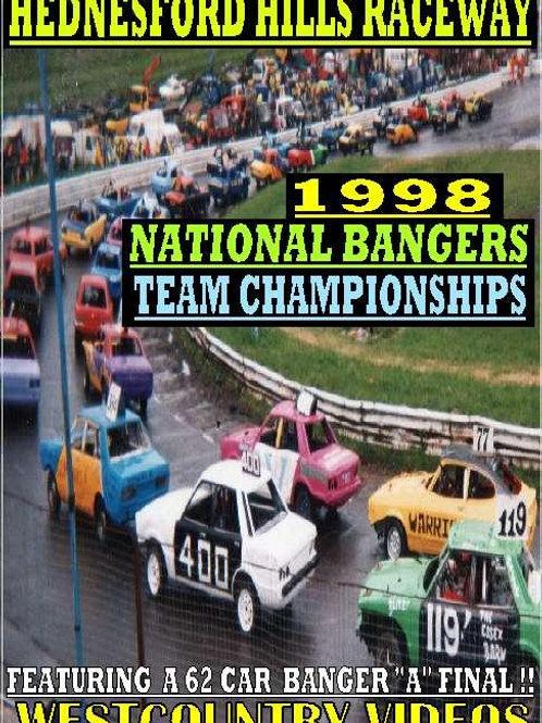 NATIONAL BANGER TEAM CHAMPIONSHIPS 1998