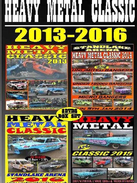 HEAVY METAL CLASSIC - 2013-2016  Box Set