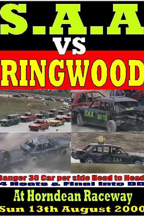 SAA vs Ringwood Banger Head to head