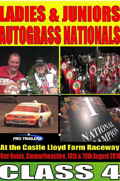 LADIES NATIONALS - CLASS 4 - DVD