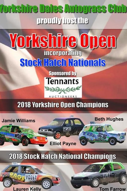 YORKSHIRE OPEN - Juniors - 29/30th June - DVD/USB