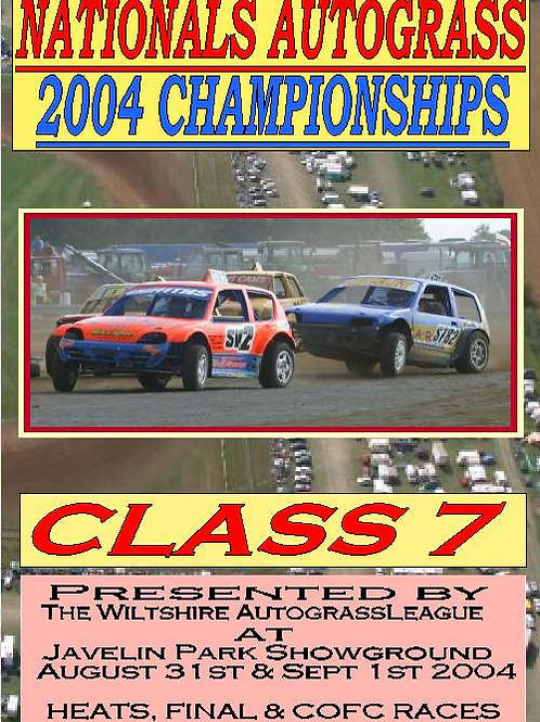 MENS NATIONAL 2004 ( CLASS DVD's)