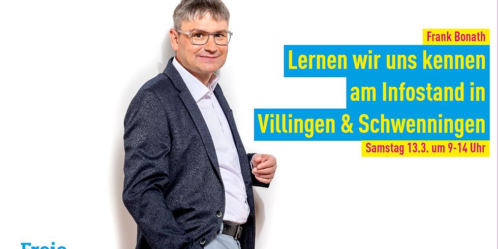 Infostand in Villingen & Schwenningen