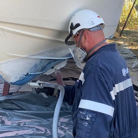 Tout savoir sur l'aero-hydrogommage pour votre bateau