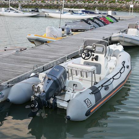 Hiverner son bateau semi-rigide, Zodiac, Bombard