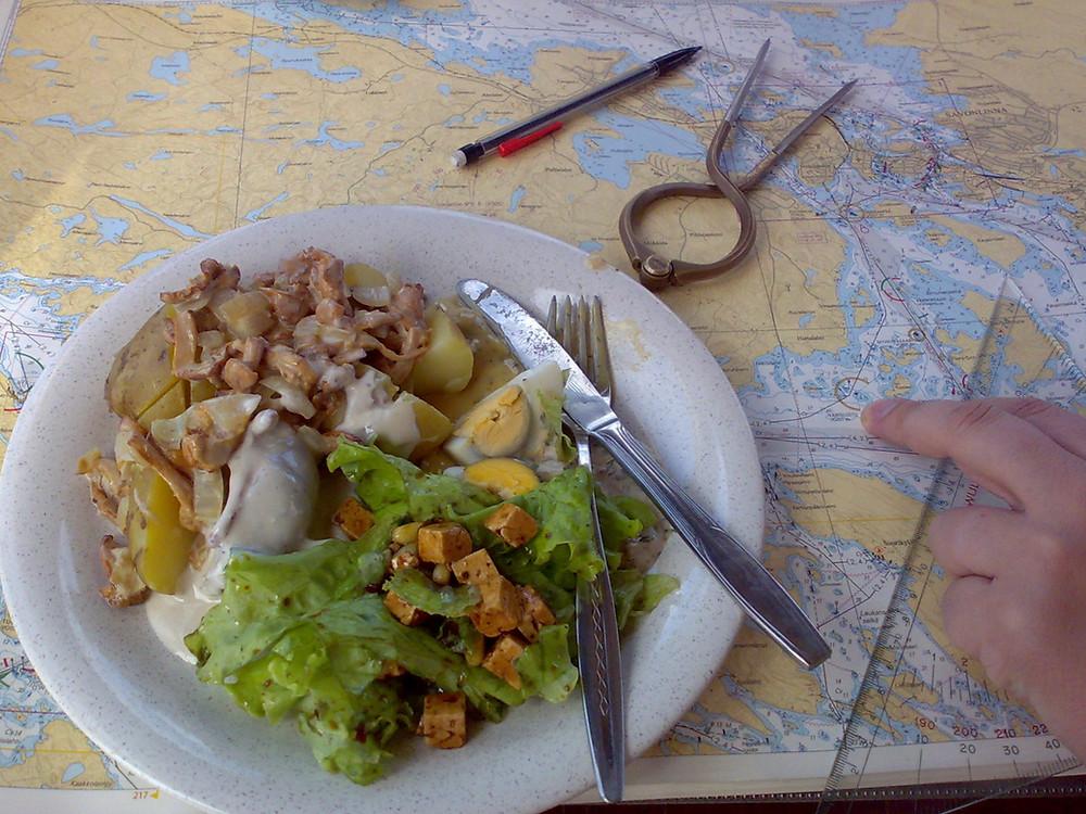 déjeuner en mer