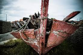 vieille coque bateau