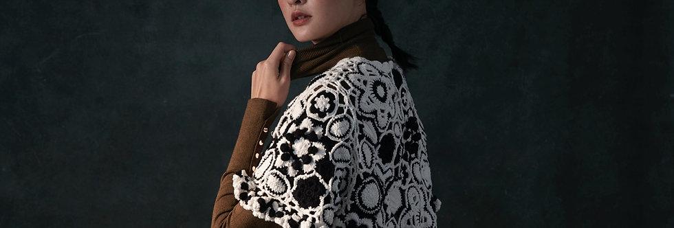 Delicate Crochet Flower Top