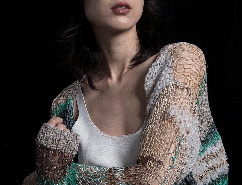 S107 | Hand Knit Cardigan