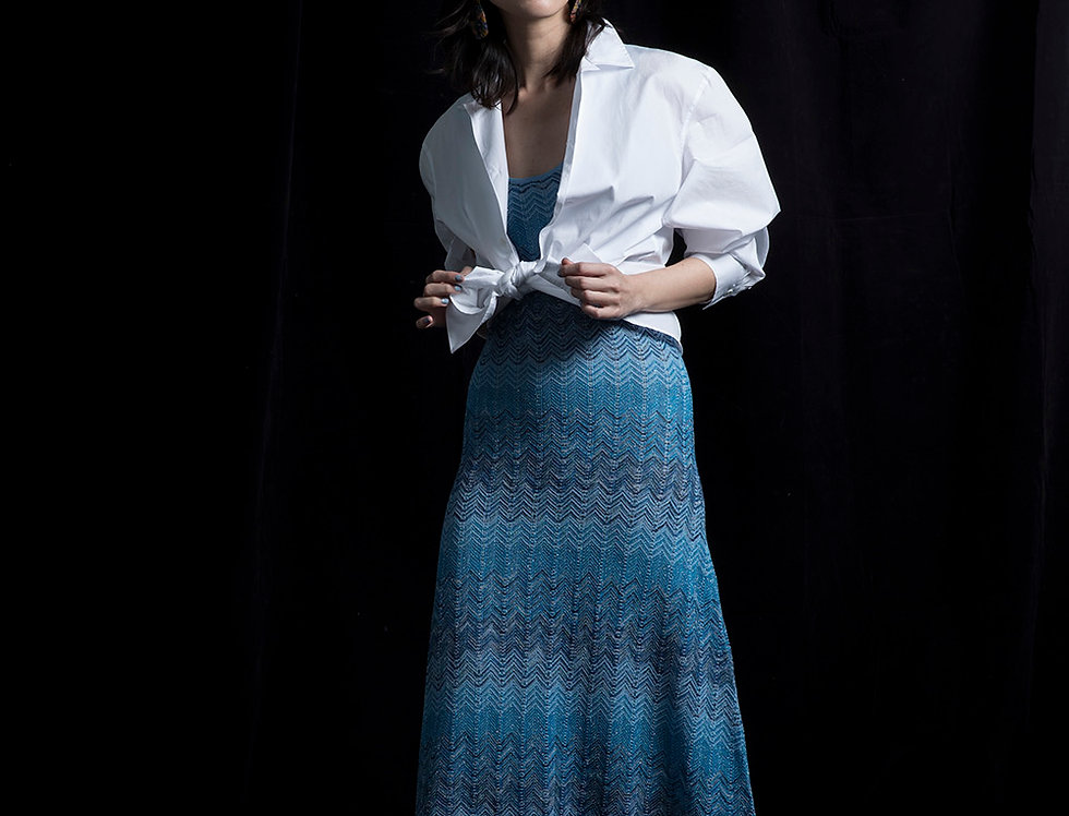 S113 | Zigzag Knit Dress