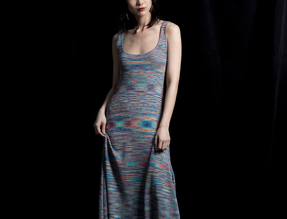 S115 | Color Change Long Dress