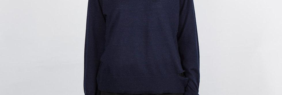 1708-36   Superfine Cashmere Wool Cut Pullover