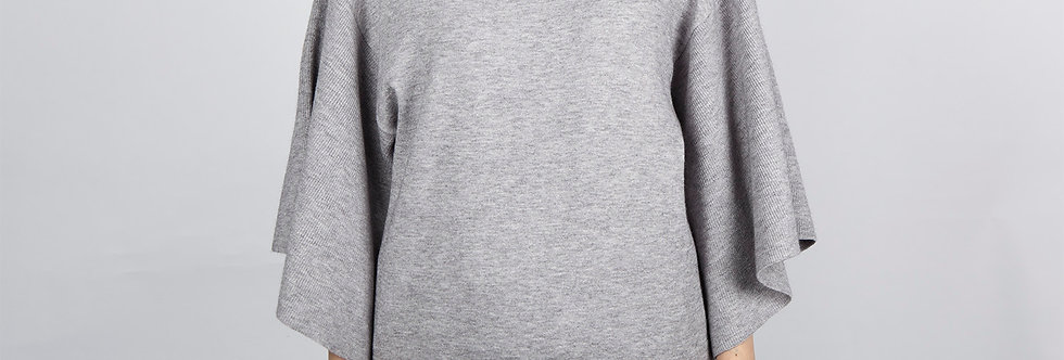 1708-50 | Butterfly Sleeve Crewneck Pullover