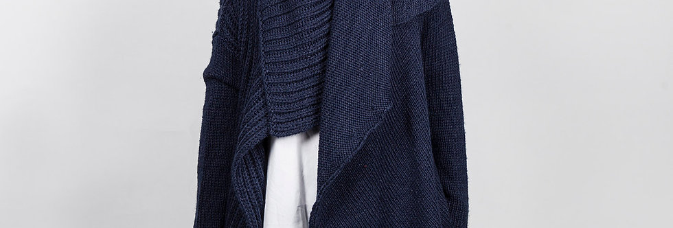 W137-A | Deconstruction Two Way Cardigan