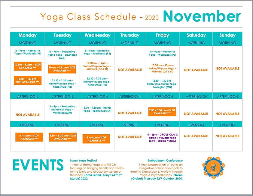 Yoga Class Schedule 2020 - November 2.jp