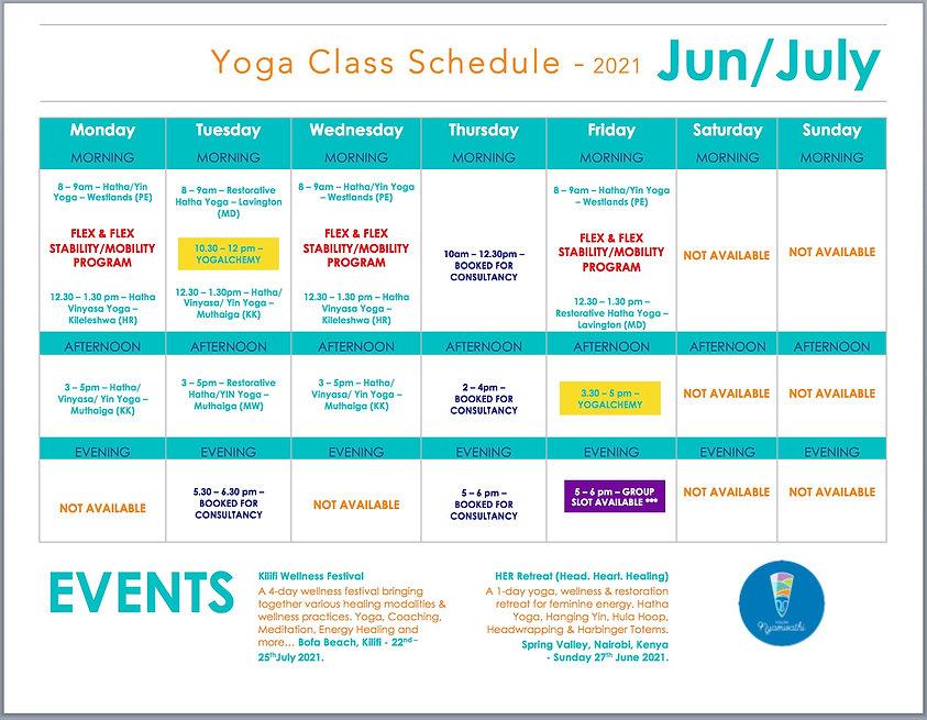 Yoga Class Schedule 2021 - Jun July 2.jp