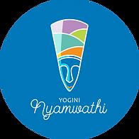 Yogini Nyamwathi Blue Logo & Icon Round.