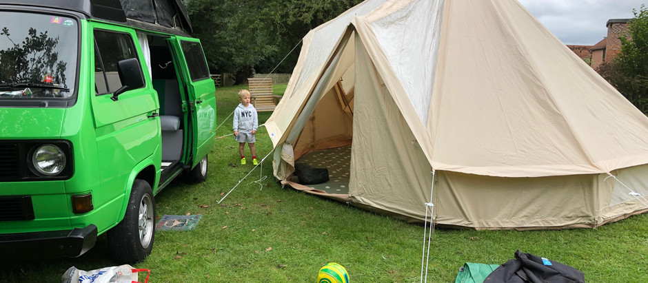 Campsite Review - Manor Court Farm, Tunbridge Wells, Kent.