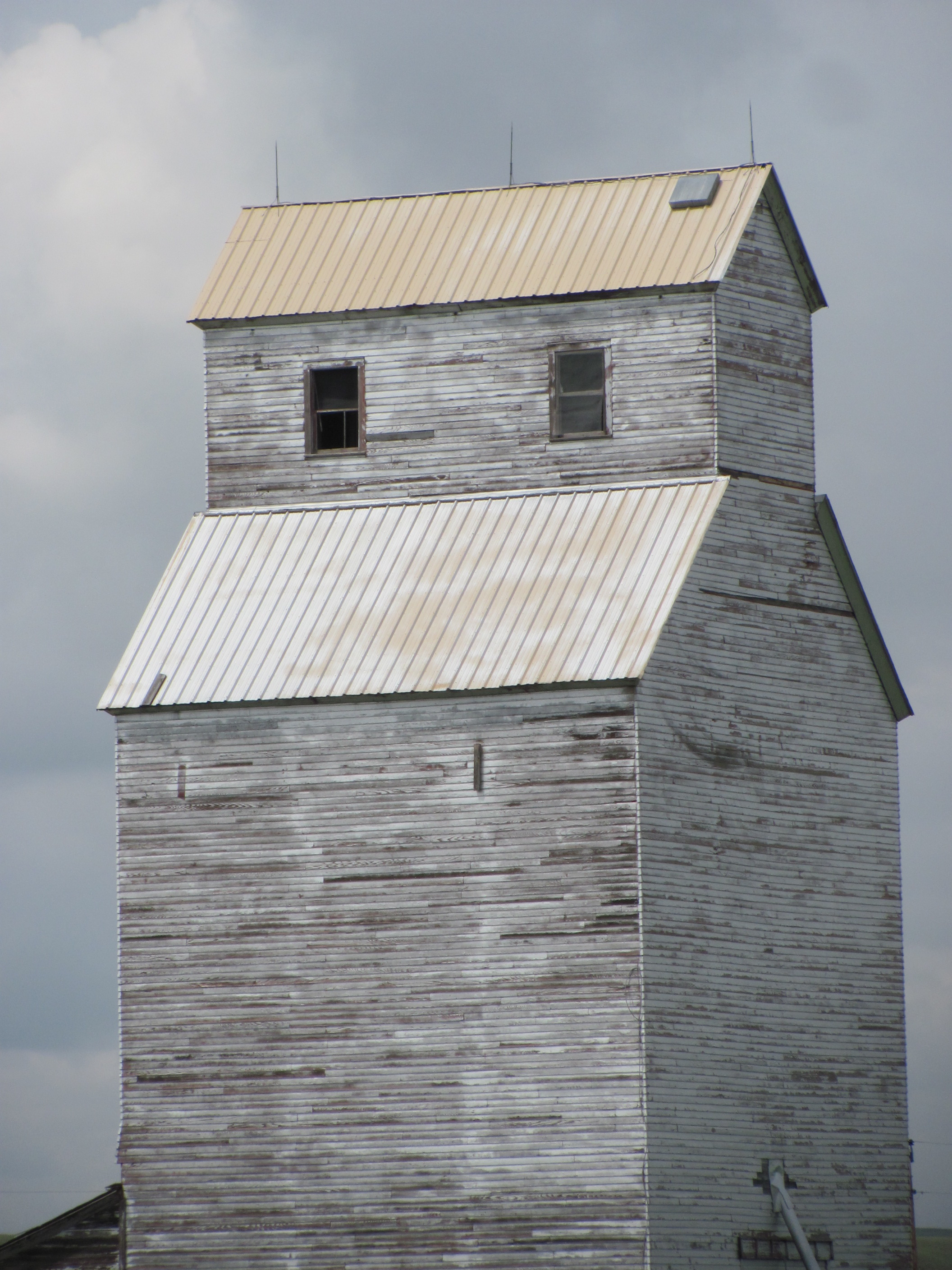 Weathered Building