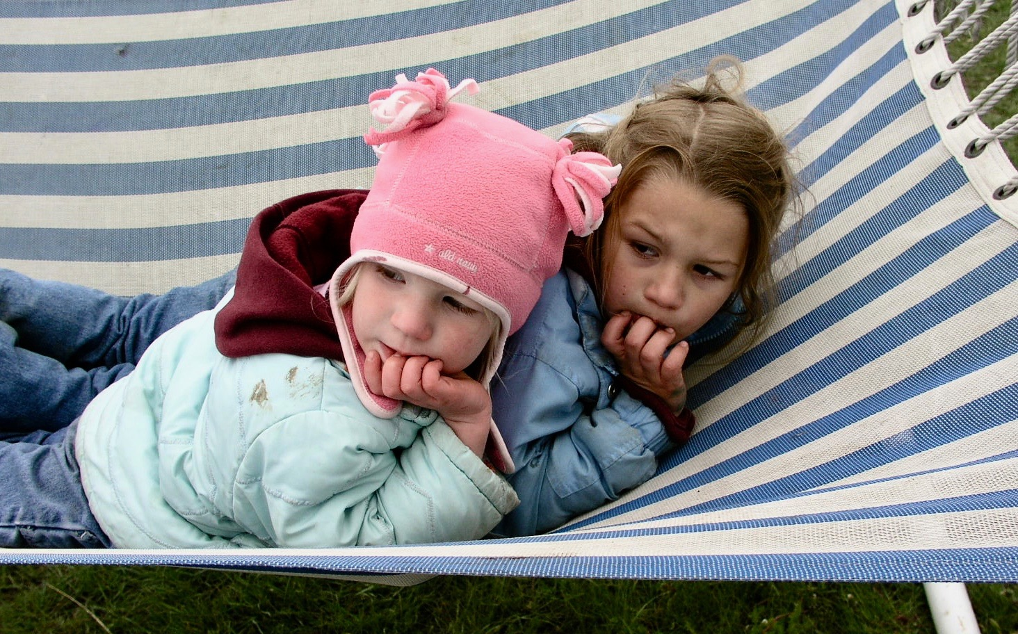 Kids on the Hammock