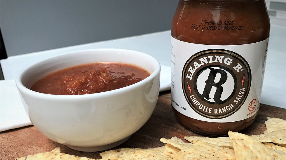 LEANING R ® Chipotle Ranch Salsa - 1 case (Qty 12)