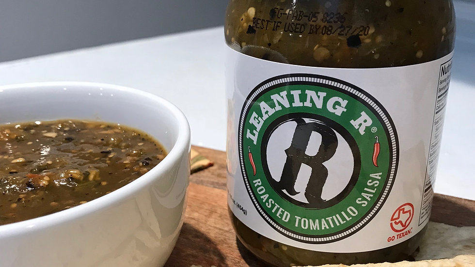 LEANING R ® Roasted Tomatillo Salsa - 16 oz