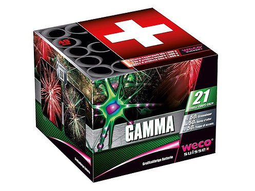 Feuerwerk Batterie Gamma