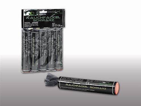 Rauchfackeln Schwarz - 5er Pack, 60sec