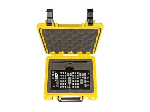 gelber Koffer für Handsender 18R und 18R2