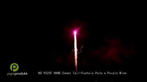 Comet Tail - Fuchsia Palm w/Purple Mine