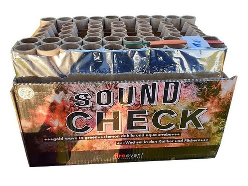 Sound Check, 45sec