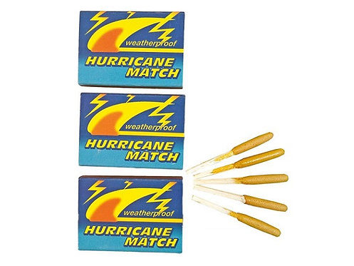 Sturmstreichholz, Hurricane Match