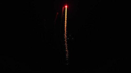 8's Red Tail w/Blue Star Mine