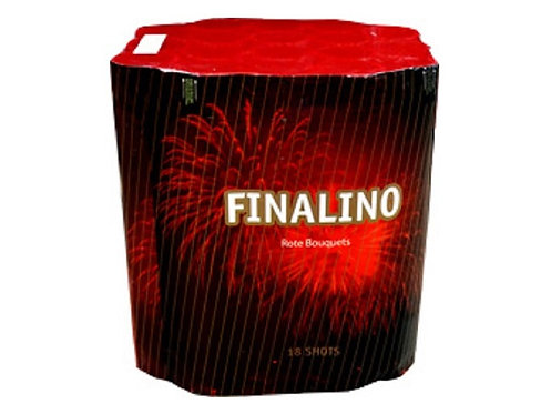 Feuerwerk Batterie Finalino Rot