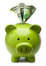 green piggy bank Stock_000013650564XSmal