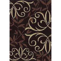Orian Texture Weave Rugs - Iron Fleur Mink