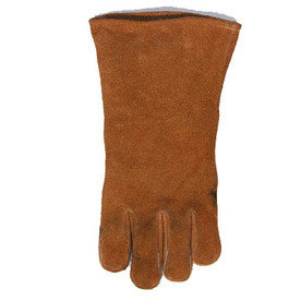 Blue Hawk Leather Fireplace Gloves - Large