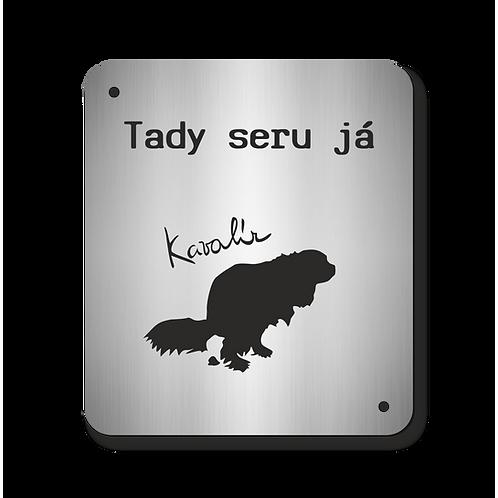 Cedulka Kavalír