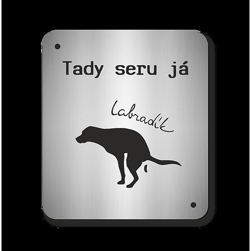 Cedulka Labradík