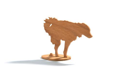 Dřevěný Sraloun Pouličník