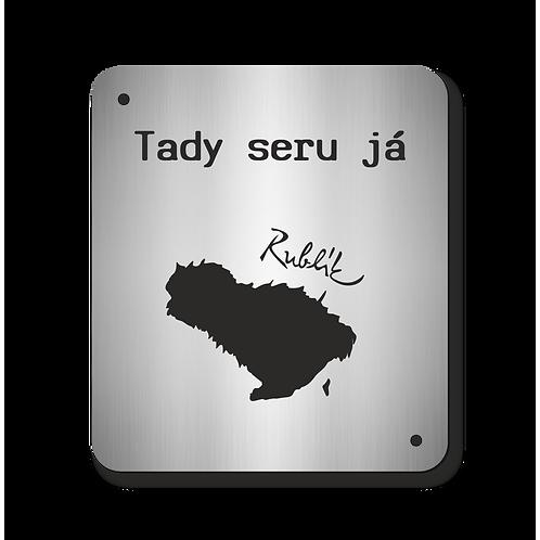 Cedulka Rublík