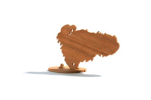 Dřevěný Sraloun Tibetík