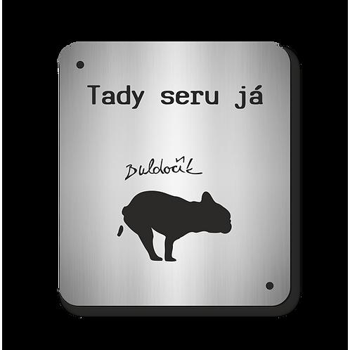 Cedulka Buldočík